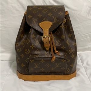 louis vuitton • montsouris mm backpack